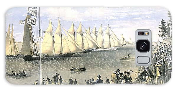 New York Yacht Club Regatta 1869 Galaxy Case