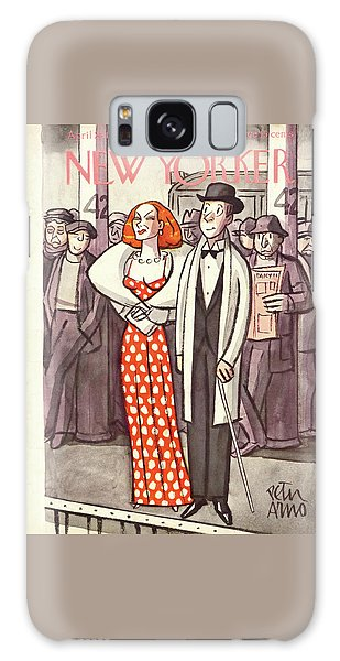 New Yorker April 24th, 1937 Galaxy Case