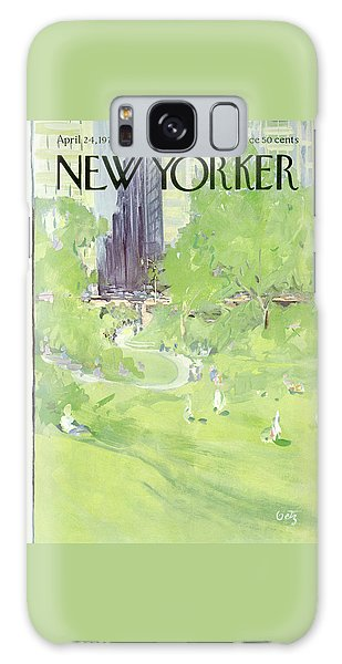 New Yorker April 24th, 1971 Galaxy Case