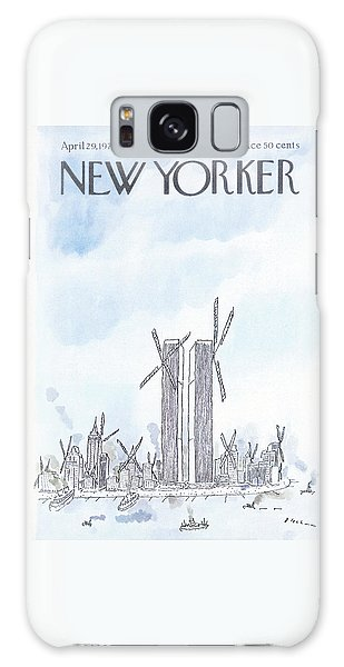 New Yorker April 29th, 1974 Galaxy Case