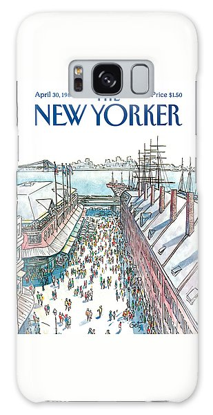 New Yorker April 30th, 1984 Galaxy Case