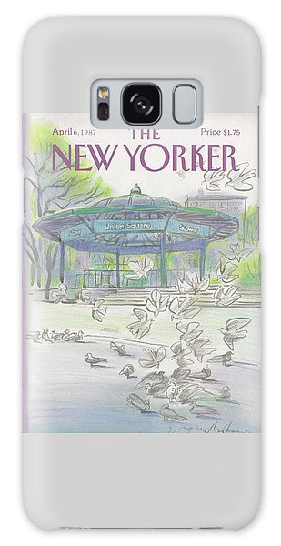 New Yorker April 6th, 1987 Galaxy S8 Case