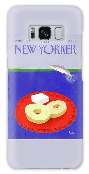 New Yorker April 6th, 1992 Galaxy Case