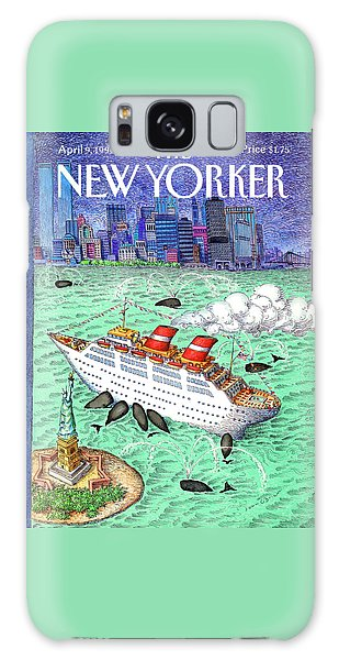 New Yorker April 9th, 1990 Galaxy Case
