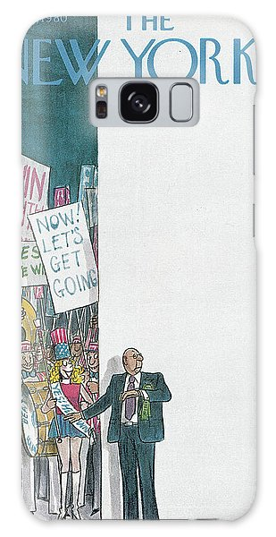 New Yorker August 11th, 1980 Galaxy Case