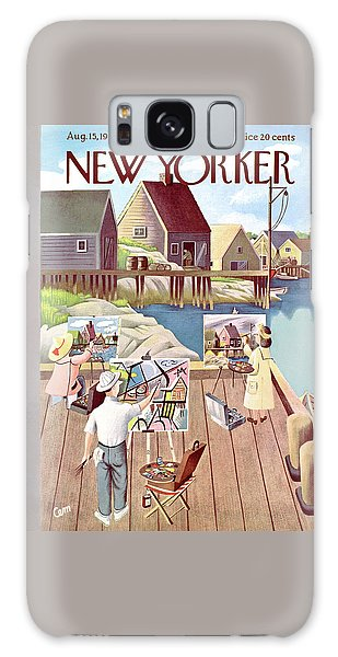 New Yorker August 15th, 1953 Galaxy Case