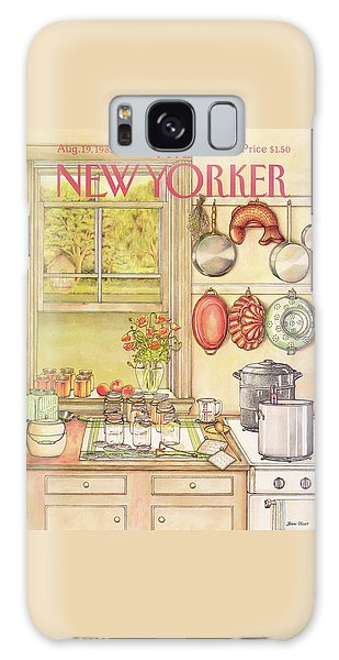New Yorker August 19th, 1985 Galaxy S8 Case