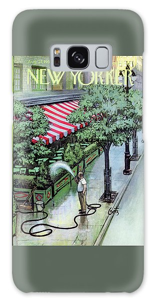 New Yorker August 27th, 1955 Galaxy Case