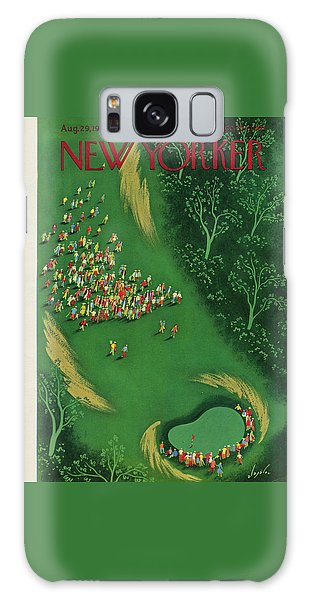 New Yorker August 29th, 1953 Galaxy Case