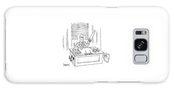 New Yorker December 28th, 1987 Galaxy Case by Jack Ziegler