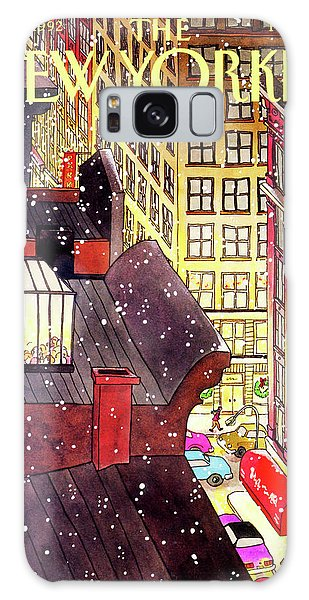 New Yorker December 7th, 1992 Galaxy Case