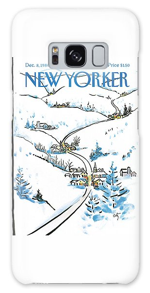 New Yorker December 8th, 1986 Galaxy Case