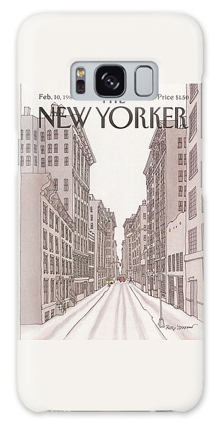 New Yorker February 10th, 1986 Galaxy Case