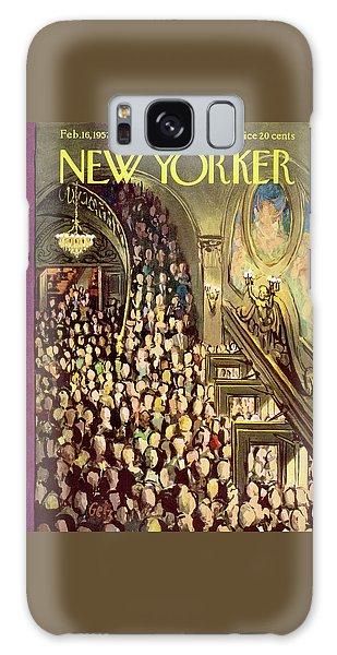 New Yorker February 16th, 1957 Galaxy Case