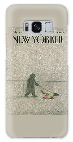 New Yorker February 16th, 1987 Galaxy Case