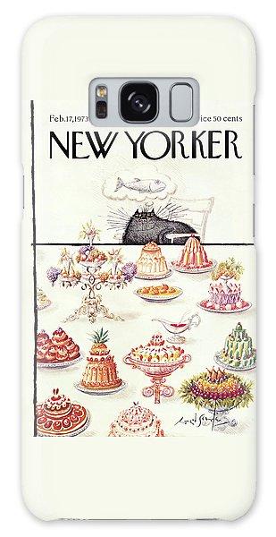 New Yorker February 17th, 1973 Galaxy Case