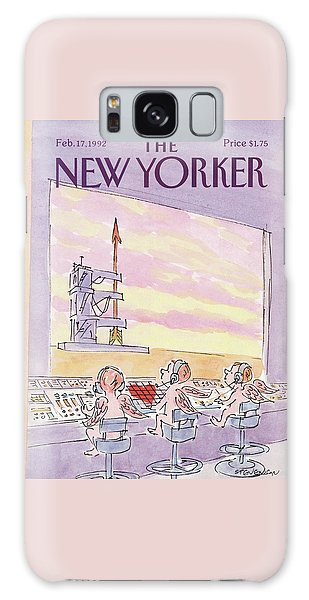 New Yorker February 17th, 1992 Galaxy Case