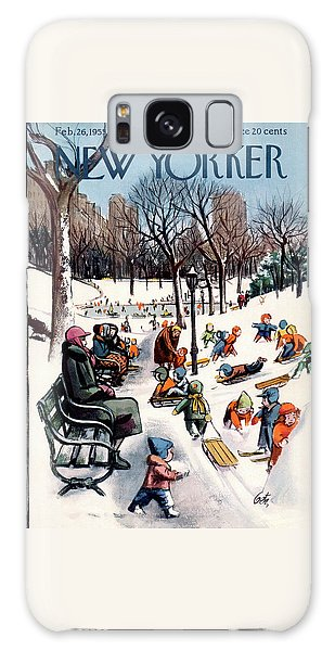 New Yorker February 26th, 1955 Galaxy Case