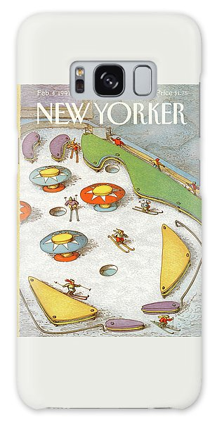 New Yorker February 4th, 1991 Galaxy Case