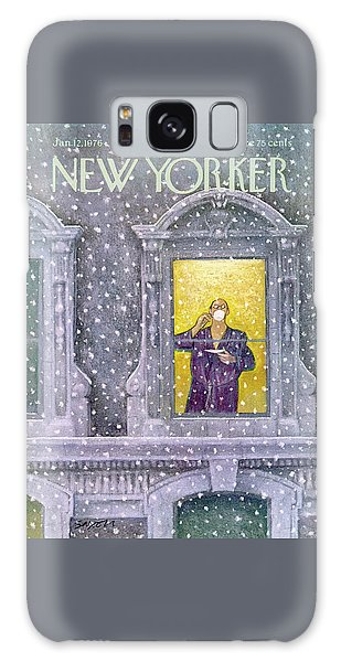 New Yorker January 12th, 1976 Galaxy Case