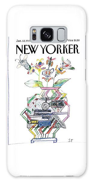 New Yorker January 12th, 1987 Galaxy Case