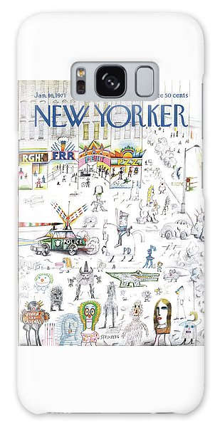 New Yorker January 16th, 1971 Galaxy Case
