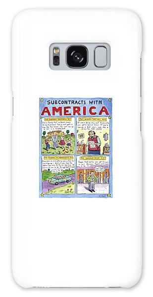 Newts Galaxy Case - New Yorker January 16th, 1995 by Roz Chast