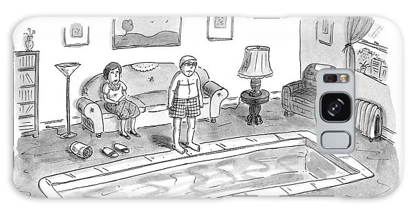 Prepare Galaxy Case - New Yorker January 20th, 1997 by Roz Chast