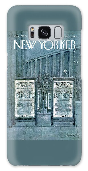 New Yorker January 27th, 1973 Galaxy Case