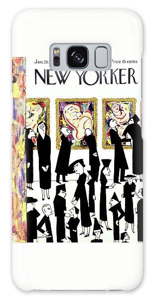 Magazine Cover Galaxy Case - New Yorker January 29 1938 by Christina Malman