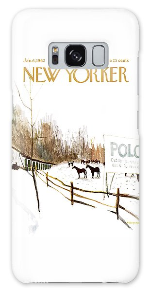 New Yorker January 6th, 1962 Galaxy Case
