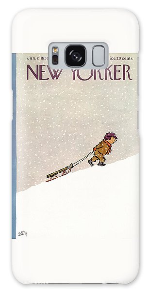 New Yorker January 7th, 1956 Galaxy Case