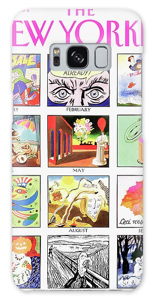 New Yorker January 7th, 1991 Galaxy S8 Case