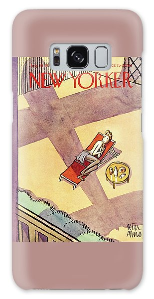 Magazine Cover Galaxy Case - New Yorker July 10 1937 by Peter Arno