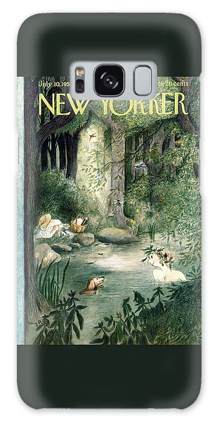 New Yorker July 10th, 1954 Galaxy Case