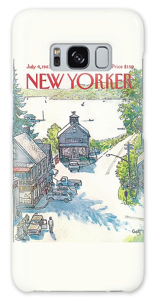 New Yorker July 4th, 1983 Galaxy Case