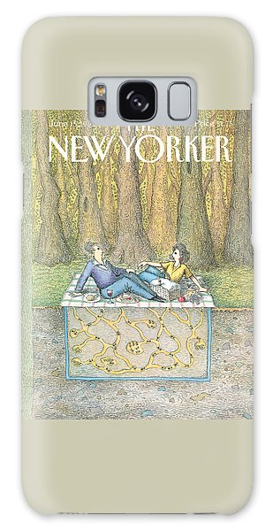 Ant Galaxy S8 Case - New Yorker June 15th, 1992 by John O'Brien