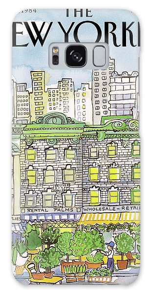 New Yorker June 25th, 1984 Galaxy Case