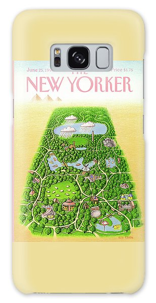New Yorker June 25th, 1990 Galaxy Case