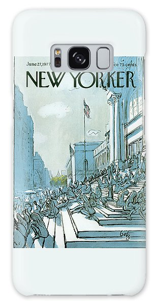 New Yorker June 27th, 1977 Galaxy Case