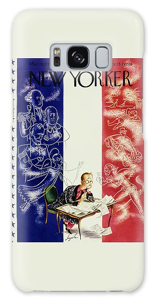 Magazine Cover Galaxy Case - New Yorker March 13 1937 by Constantin Alajalov