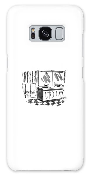 Hillary Clinton Galaxy S8 Case - New Yorker March 1st, 1993 by Donald Reilly