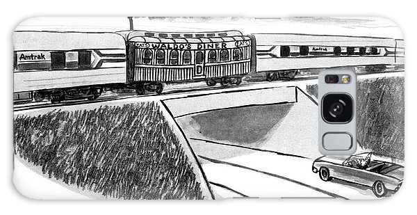 Trains Galaxy Case - New Yorker May 22nd, 1978 by Warren Miller