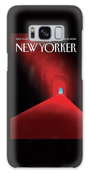 Barack Obama Galaxy Case - New Yorker November 10th, 2008 by Brian Stauffer