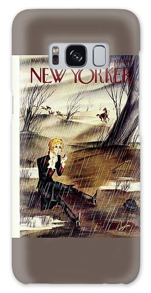 Magazine Cover Galaxy Case - New Yorker November 28 1936 by Constantin Alajalov