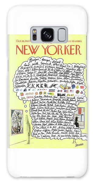 New Yorker October 18th, 1969 Galaxy Case