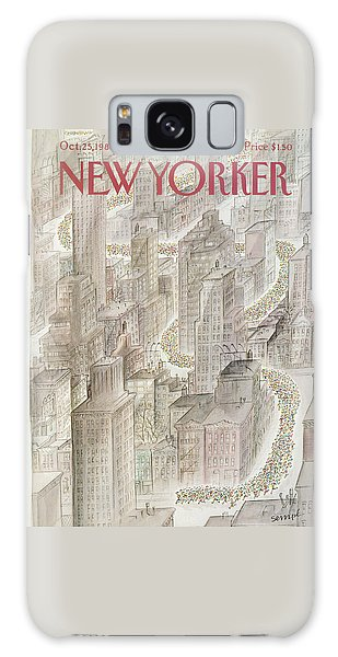 New Yorker October 25th, 1982 Galaxy Case