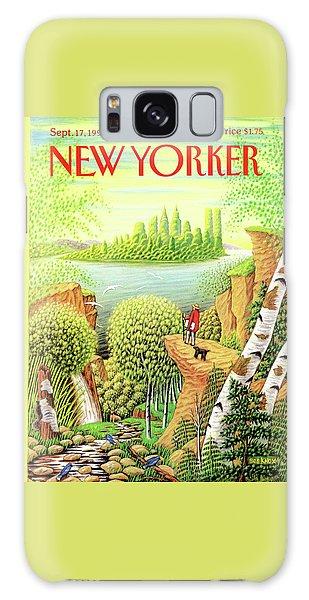 Green New York Galaxy Case