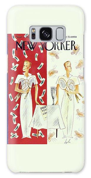 Amateur Galaxy Case - New Yorker September 7 1935 by Constantin Alajalov