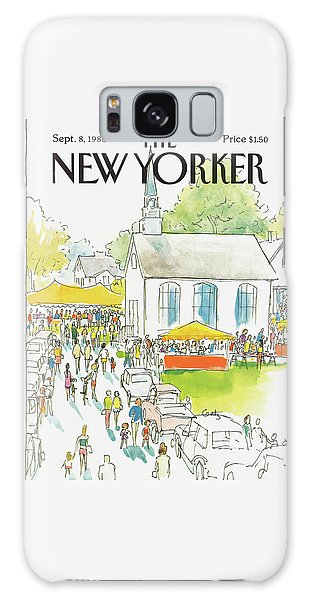 New Yorker September 8th, 1986 Galaxy Case